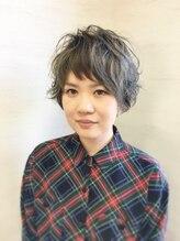 ヘアーアンドケア マーレ(hair&care mare)グレージュ×ゆるかわパーマ