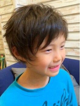 ソハナヘアー(SOHANA hair)の写真/親子でご来店の小学生以下のお子様【カット¥1500★】ゆったりした空間だからまた来たくなると口コミ◎