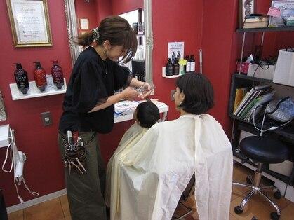 ヘアーアンドメイク リエ(Hair&make Rie.)の写真