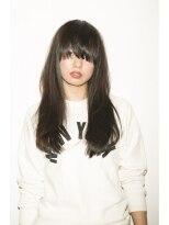 パッツンの[people] 黒髪COOL LONG.画像