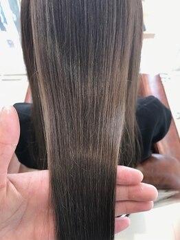 オウルヘア(OWL hair)の写真/【上永谷駅徒歩3分◆9時~23時まで営業】丁寧なカウンセリングと高い技術で大人女性の魅力を引き出します☆