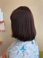 ライフヘアデザイン(Life hair design)夏のナチュラルシースルーボブ☆