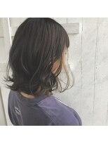 クレーデヘアーズ 相田店(Crede hair's)#インナーハイライトBOB