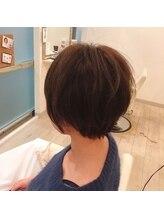 オーダー: 【髪を柔らかく見せたい】