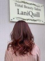 ラニクイール(Lani Quill)バレイヤージュ×レッド