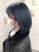 シャチュー(SHACHU)〈一時的な髪色戻しにも〉ネイビーブラック by Junko