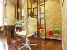 美容室 ペルル(Perle)の雰囲気(キッズスペースあり☆ママの隣にあるので安心して施術できます♪)