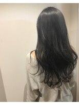 ヘアメイク オブジェ(hair make objet)暗くても透けるスペシャルハイライトのアッシュグレージュ