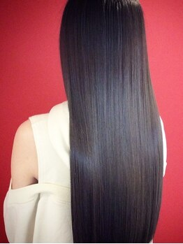 サロン ド クルール(salon de Couleur)の写真/【新栄町駅1分★】痛んだ髪もウルウルに美髪に変身♪クオリティの高いデザインカラーもこれで長持ち!