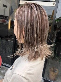 リープリング ヘアーデザイン(Liebling HAIR DESIGN)の写真/外国人風の艶のある美しい色味を実現!イルミナカラーで透明感UP◎艶も同時に手に入り、柔らかな印象に☆