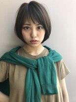 大人小顔ショートボブ【スーツやオフィスカジュアルにも似合う】