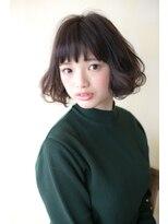 オハナ(ohana)【ohana/表参道】髪を綺麗にモーブカラーのくびれタンバルモリ