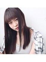 フェス カットアンドカラーズ(FESS cut&colors)『FESS 鶴丸』【ラベンダーベージュ×ナチュラルストレート】