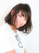 エトネ ヘアーサロン 仙台駅前(eTONe hair salon)【eTONe】毛先揺れる愛されボブ