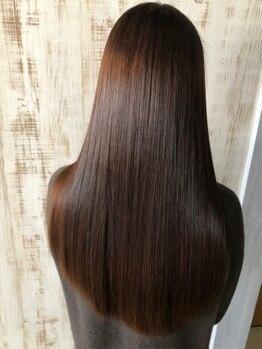 リッシュグランデ(riche GRANDE by CHANDEUR)の写真/【資生堂が誇るシステムトリートメント】と【極潤トリートメント】を取り揃え☆自慢のTr.で最高の美髪へ…