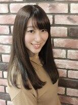 イーリス(IriS)《高田馬場美容室IriS》アディクシーカラー☆ブラウンベージュ☆