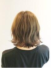 ヘアーメイク セラヴィ(Hair Make C'EST LA VIE)ラフな外ハネスタイル。