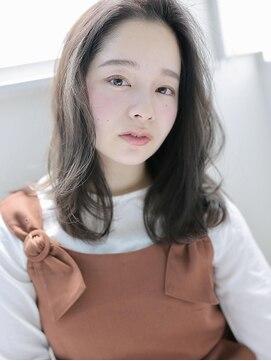 アグヘアー マーク 酒田下安店(Agu hair marc)透明感あふれる大人なラフミディ