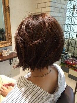 ヘアーメイク グラッツィアシエロ(hair make Grazia cielo)の写真/数ヶ月経っても髪の収まり良くお客様が簡単に出来るようなお家セット技術を伝授是非体験してみてください♪