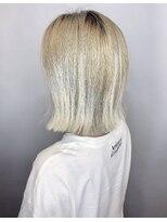 ソース ヘア アトリエ 京橋(Source hair atelier)【SOURCE】ホワイトグラデーション