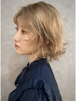 イトシテ【 ミルクティーベージュ × ミニボブ 】浅野美紀