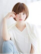 ヘアメイク ナル(hair make nalu)ハイトーンの美シルエットショート