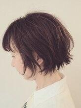 ヘアーメイクフォルム(hair make forum)大人可愛いボブ