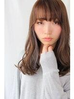 ジル ヘアデザイン ナンバ(JILL Hair Design NAMBA)【大人可愛いセミロング】軽やかさと女っぽさのstyle☆