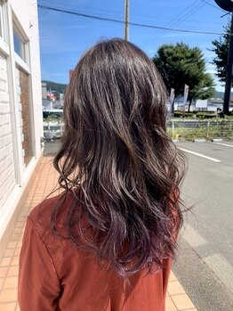 フォンタナ(Fontana)の写真/【津志田/大人女性は美髪から*】トレンドも取り入れた大人女性にハマるスタイルをご提案!当日予約もOK◎