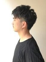 ルフト(Luft)【Luft】ツーブロックパーマ束感 ニュアンスモテ髪セミウェット