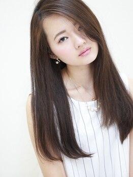 エアリー 昭島店(Airily)の写真/お悩み解決はもちろん、質感にもこだわりあり!生え癖や顔周り、髪1本1本まで自然で柔らかなストレートへ☆