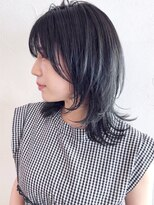 アイティー バイ アルバム 中野店(IT by ALBUM)ウルフカット_エアリーミディショートパーマ_ba296012