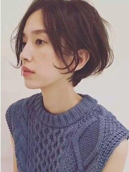 アウラ ヘア デザイン(aura hair design)の写真/髪にも頭皮にも優しいオーガニックvillalodola♪一歩先行くグレイカラーで気になる白髪もしっかり染まる◎