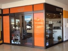 アンティルヘアールーム 福島店(until hair room)の雰囲気(オレンジ色の外観が目印です)