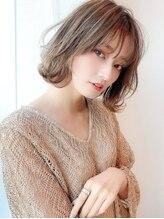 アグ ヘアー ショコラ梅田2号店(Agu hair chocolat)《Agu hair》ふんわり外ハネボブ