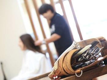 テノン 美容室tenonの写真/オーナースタイリストがマンツーマンで担当☆なりたいイメージ、髪や頭皮のお悩み等何でもご相談下さい。