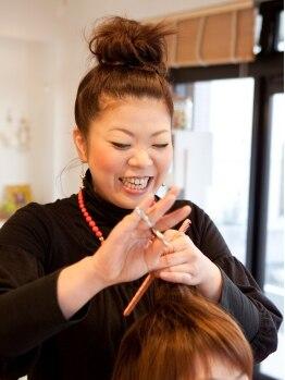 アコラート(hair&make acolat)の写真/【acolat】はオーナーさんと妹さんでやっているサロン!姉妹であなたの「可愛い」を最大限引き出します!