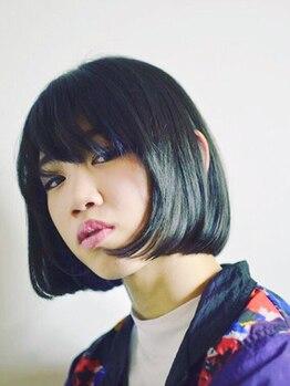 ヘアーメイク アディクト(HAIR MAKE addict)の写真/『誰よりもキレイなサラつやストレートになる』クセの強い髪も経験豊富なスタイリストたちにおまかせを…☆