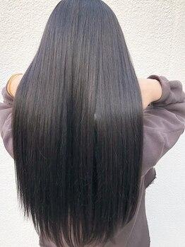 ブレンド(blend)の写真/【OPEN1周年★】お洒落な子はみんなやっている!内部から潤いを閉じ込め髪色も髪質もベストな状態に