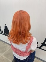ヘアーサロン エール 原宿(hair salon ailes)(ailes 原宿) ブラッドオレンジ