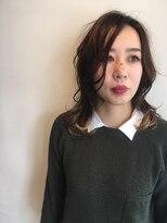 リング ゼロゼロイチ 長野店(rING 001)ラフな揺れ髪でニュアンスアップ