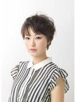 アース 小田原店(HAIR&MAKE EARTH)丸いシルエットの上品フレンチショート【EARTH小田原店】