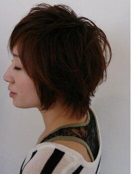 ハレヘアー 583(Hare Hair)の写真/オーガニックにこだわった【Hare Hair】のカラー☆ダメージを最小限に抑え、輝きに満ちた髪に仕上げます♪