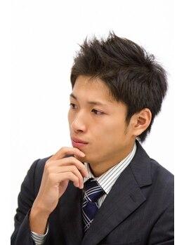 ヘアーデザイン ダグ(Hair design DAG)の写真/【メンズのお客様も多数ご来店】カウンセリングからしっかりサポート♪ビジネス~カジュアルALL OK♪