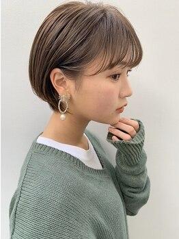 アンアミ キチジョウジ(Un ami Kichijoji)の写真/女性らしく柔らかくまとまる【Un ami】のショートヘア。あなたの魅力を更に引き出すスタイルへ―。