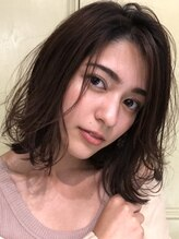 ダスクヘアー 中目黒(dusk HAIR)10代~40代人気、切りっぱなし外ハネボブ