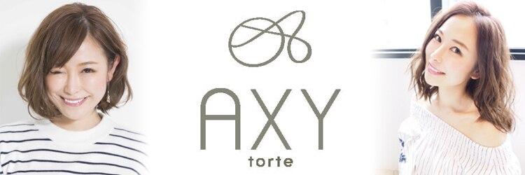 新宿AXY torteのサロンヘッダー