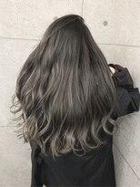 アールプラスヘアサロン(ar+ hair salon)夏のデザインカラーバレイヤージュ