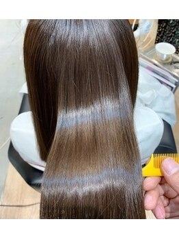 レックス ロア(REX LORE)の写真/話題の《サイエンスアクア》で髪質改善★美髪チャージで感動の手触り&質感を体感できる♪