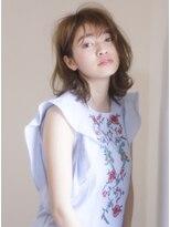 キース ヘアアンドメイク(kith. hair&make)恵比寿kith.本田×柔らかな抜け感の最旬ニュアンスミディ